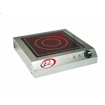 Réchaud vitrocéramique à détecteur 3,5 kw SOFRACA