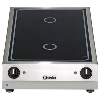 Réchaud vitrocéramique 2x3 kw BARTSCHER
