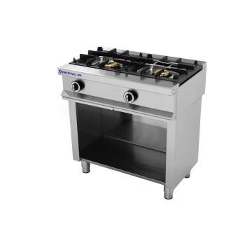 Table de cuisson sur support série 550 - 2 feux REPAGAS