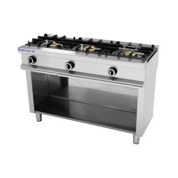 Table de cuisson sur support série 550 - 3 feux REPAGAS