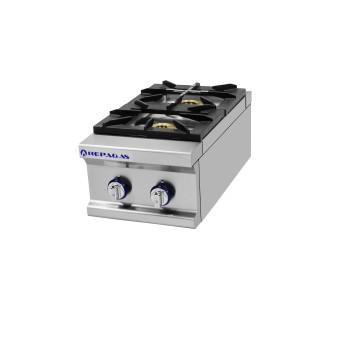 Table de cuisson série 750 - 2 feux Power Line REPAGAS