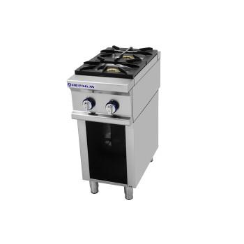 Table de cuisson sur support série 750 - 2 feux Power Line REPAGAS