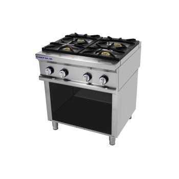 Table de cuisson sur support série 750 - 4 feux Power Line REPAGAS