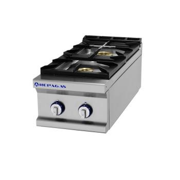 Table de cuisson série 750 - 2 feux Pro Line REPAGAS