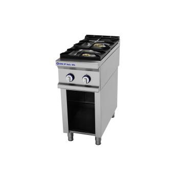 Table de cuisson sur support série 750 - 2 feux Pro Line REPAGAS
