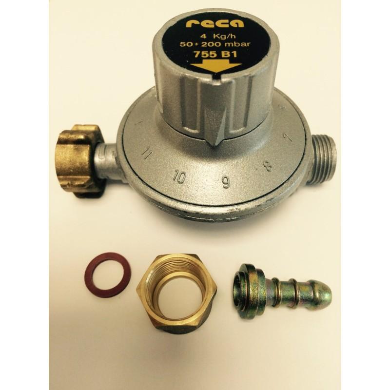 D tendeur propane r glable 50 200 mbar banides b146012 - Detendeur bouteille gaz ...