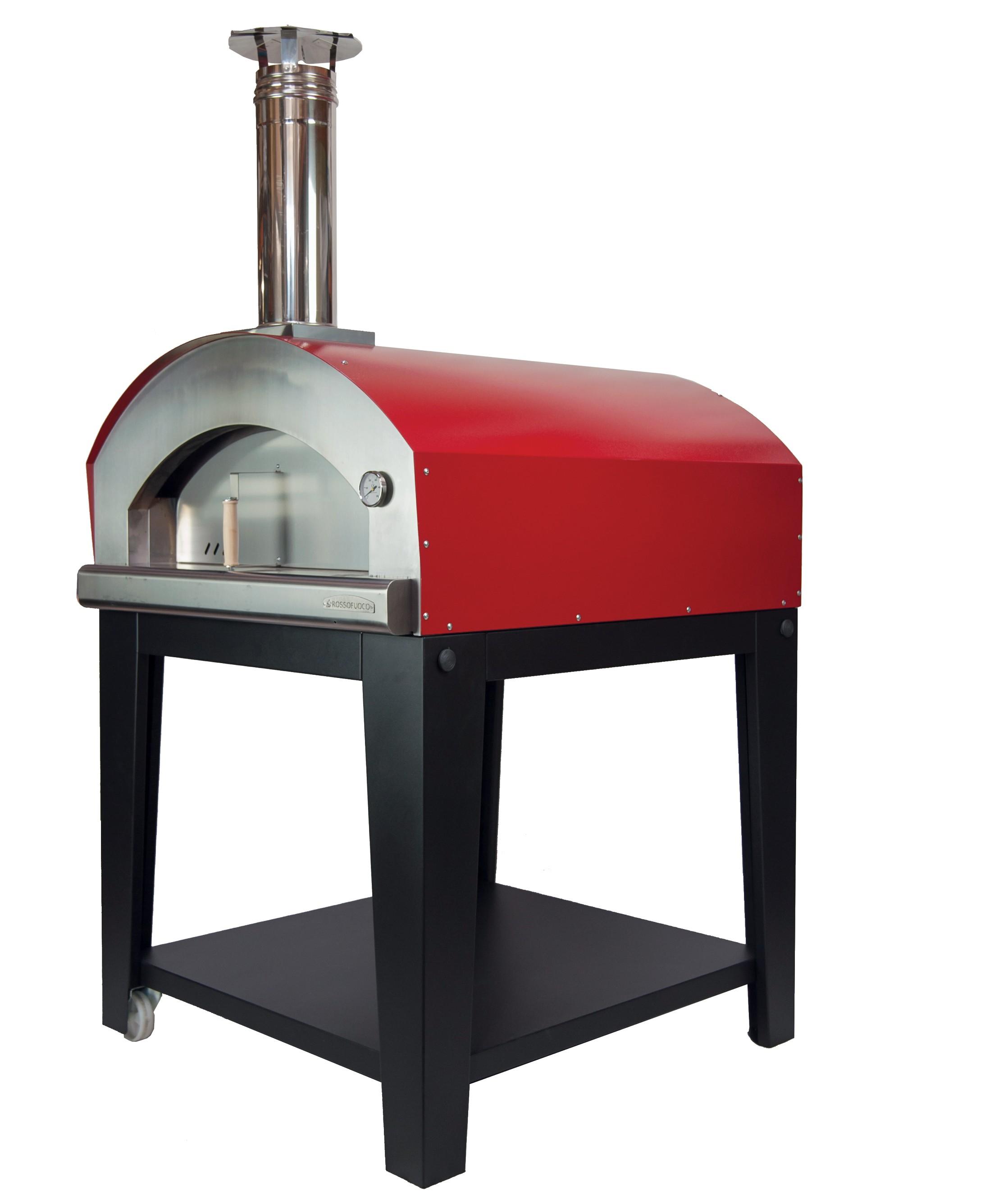 Thermomètre Four À Pain 500 four à pizza bois piu' trecento rossofuoco