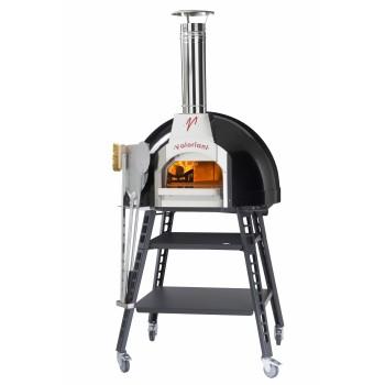 Four à pizza bois Baby 75 + base VALORIANI