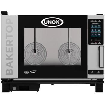 Four pâtissier 400V + vapeur 4 niveaux BAKERTOP PLUS UNOX