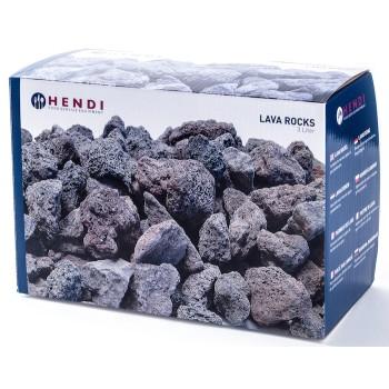 Carton de 3 kg de pierres de lave HENDI