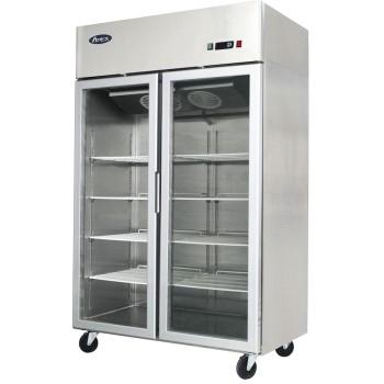 Armoire réfrigérée porte vitrée 900 litres positive ventilée ATOSA
