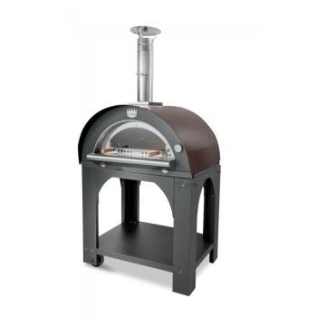 Four à pizza bois Pulcinella + base CLEMENTI