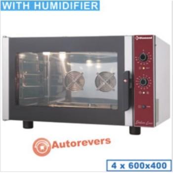 Four pâtissier 230V + humidificateur 4 niveaux DIAMOND