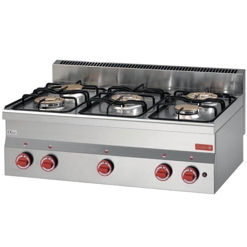 Table de cuisson série 600 - 5 feux GASTRO M