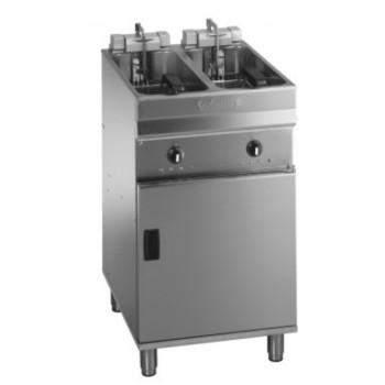 Friteuse 400V 2x9 litres sur meuble VALENTINE