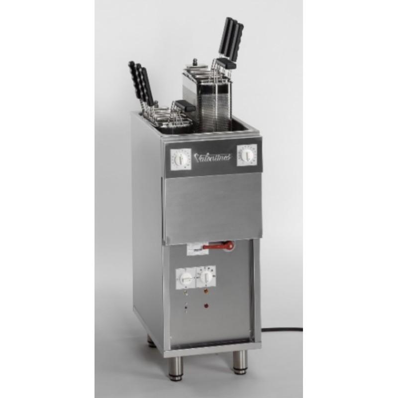 Cuiseur à pâtes avec levage auto 400V cuve 40 litres VALENTINE