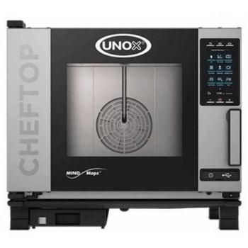 Four gaz mixte vapeur 5 niveaux GN 1/1 CHEFTOP PLUS UNOX
