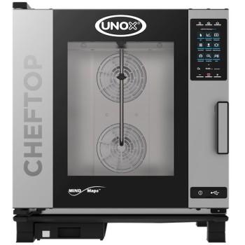 Four gaz mixte vapeur 7 niveaux GN 1/1 CHEFTOP PLUS UNOX