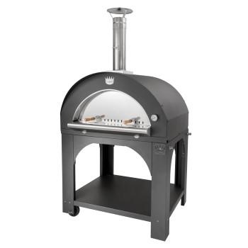 Four à pizza bois Maxi Pulcinella + base CLEMENTI