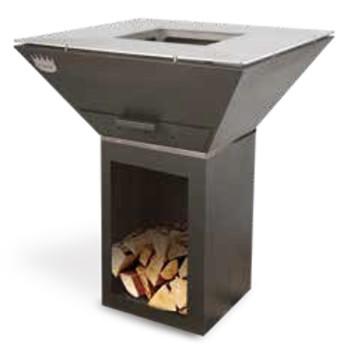 Barbecue bois COLORADO acier électrozingué CLEMENTI