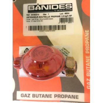 Détendeur gaz Propane 37mbar 1.5Kg/h BANIDES