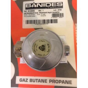 Détendeur gaz Propane 37mbar 3Kg/h BANIDES